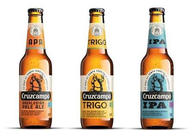 Cruzcampo presenta tres nuevas variedades: 'Andalusian Pale Ale', IPA y Trigo
