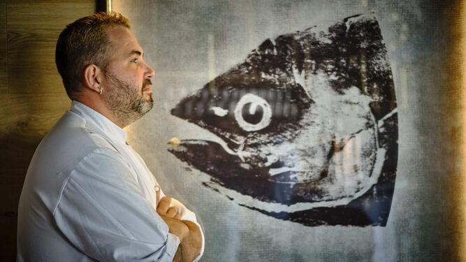 Mauro Barreiro presenta la casquería del atún rojo en Madrid Fusión