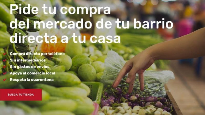 Nace El Mercado de Sevilla, proyecto altruista de apoyo al comercio local