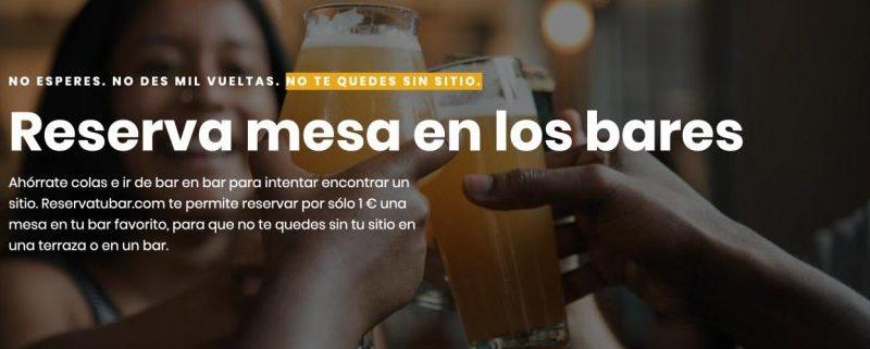 ReservaTuBar.com llega para falicitar la rotación en los bares