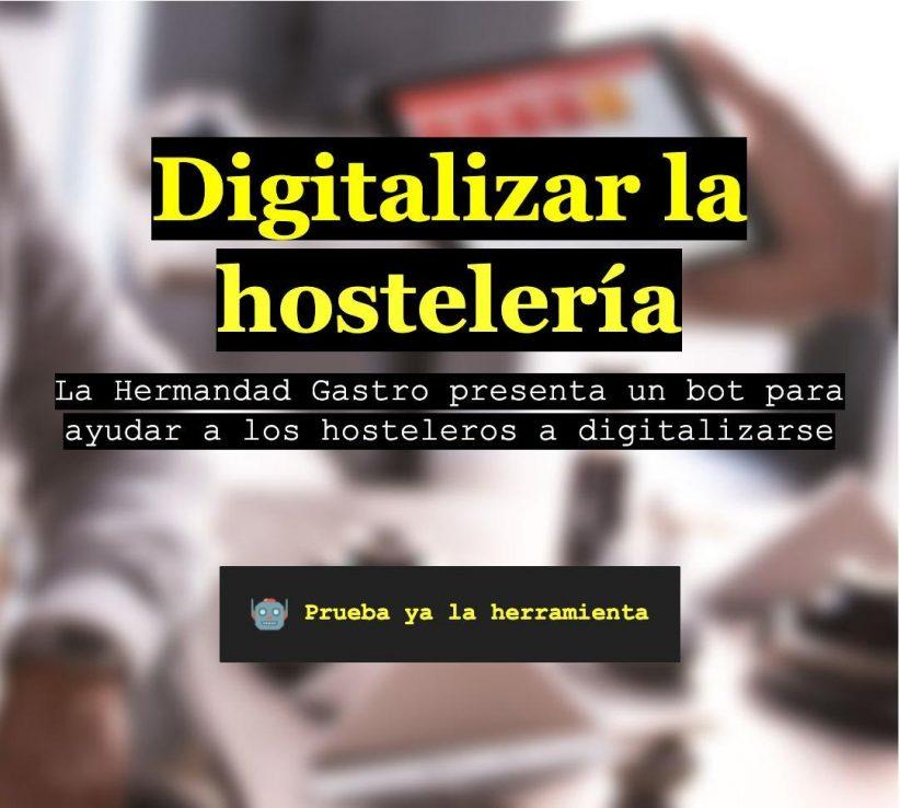 La Hermandad Gastro lanza el bot de ayuda a la digitalización hostelera