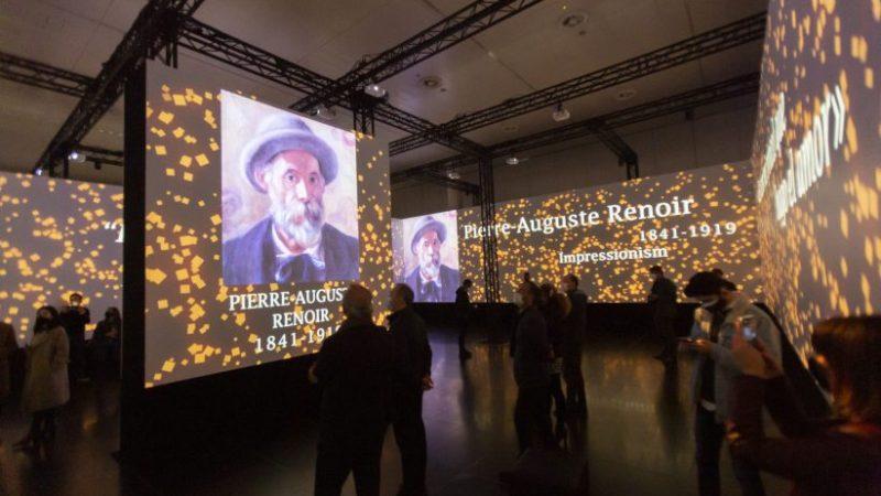 «Impresionistas», la exposición inmersiva del impresionismo