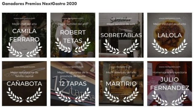 Premios NextGastro 2020
