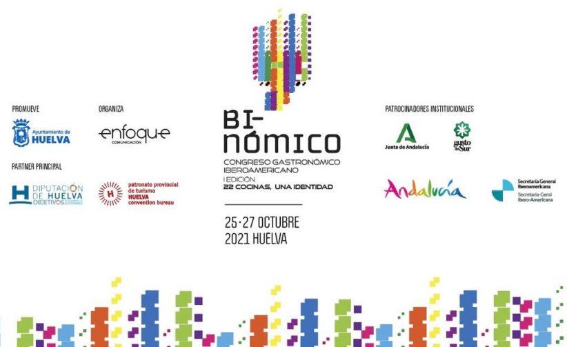 Binómico, el I Congreso Gastronómico Iberoamericano de Huelva, presentado en Fitur