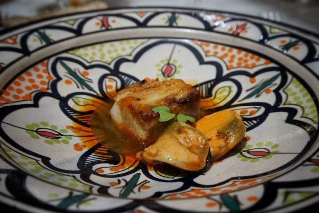 menú degustación 100% ibérico de Lalola de Javi Abascal