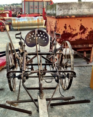 Horse drawn farm equipment