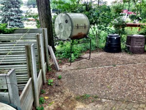 Composting demo at the Civic Garden Center