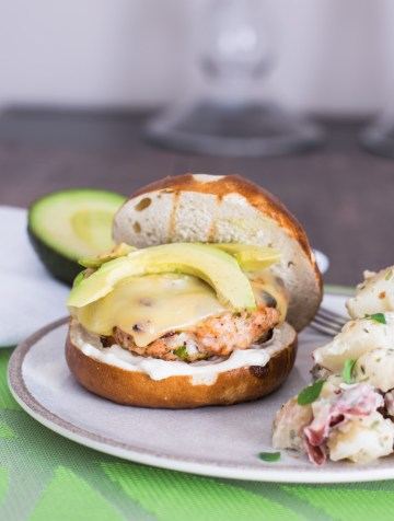 Grilled Chipotle Turkey Burgers & Red-Skinned Potato Salad