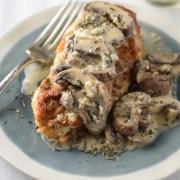 Chardonnay Chicken with Mushrooms