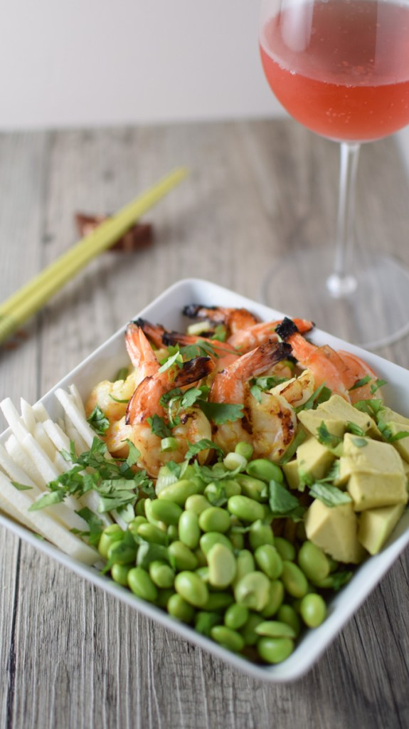Shrimp & Udon Noodle Bowl
