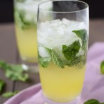 Ginger Mint Lemonade with Q Drinks Ginger Beer