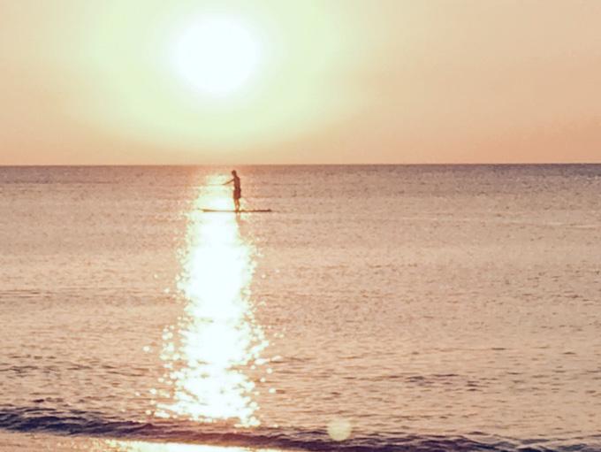 Michigan Beach Sunset