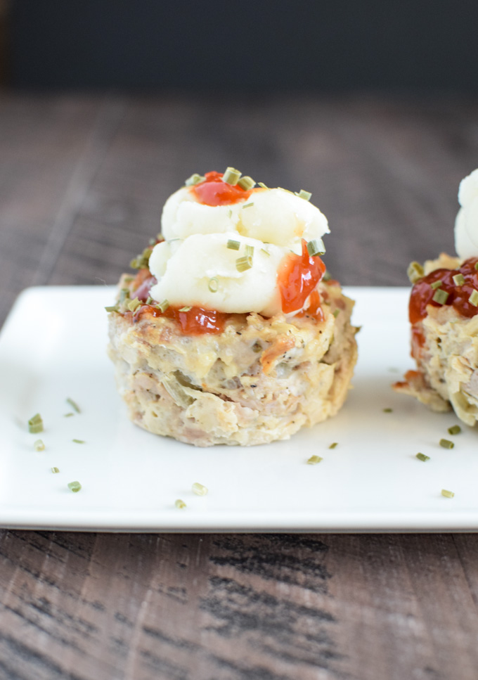 Cupcake version - Meatloaf Muffin