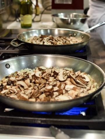 Mushroom Tart @ The Chopping Block