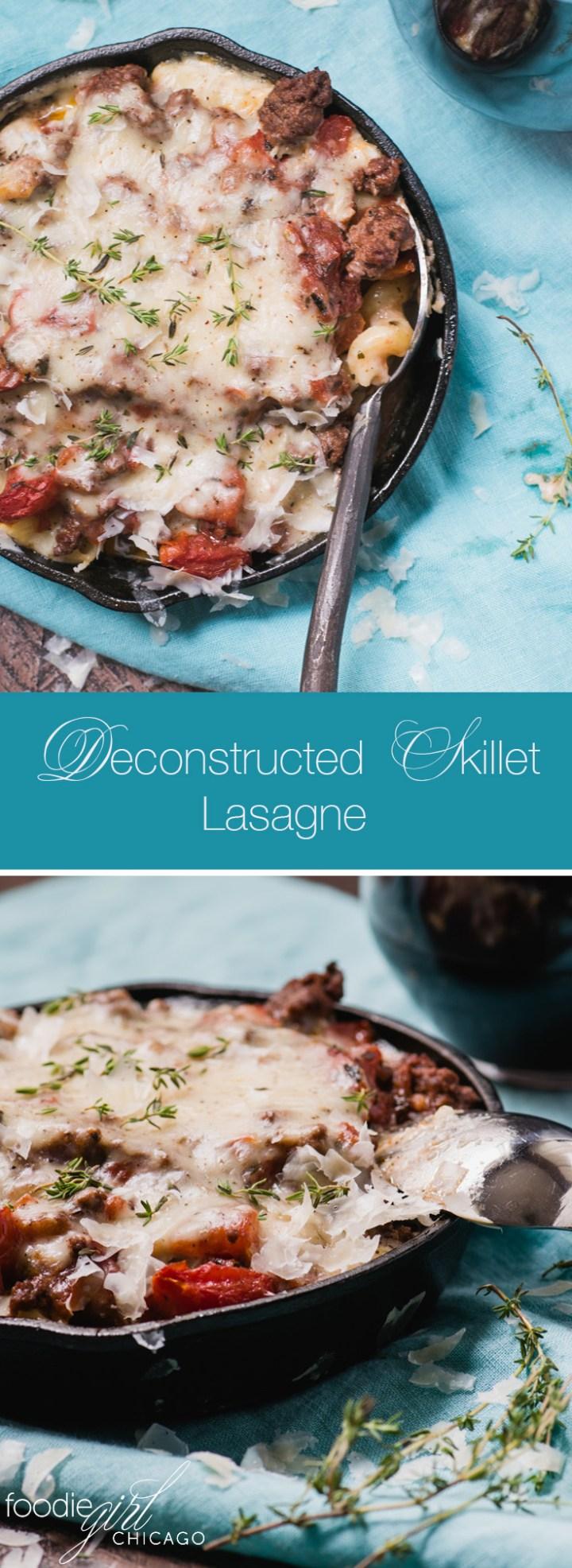 Deconstructed Skillet Lasagne