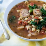 Tuscan White Bean Soup with Sausage