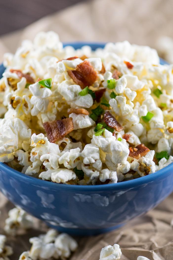 Bacon Jalapeño Popcorn