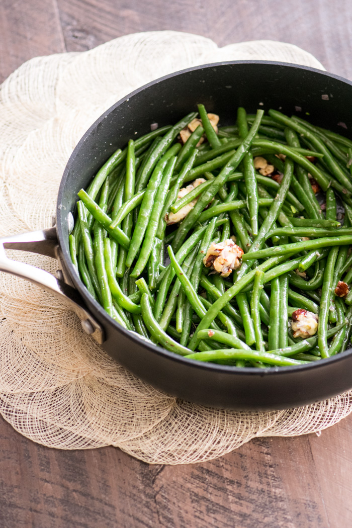 Green Beans with Butter Melting