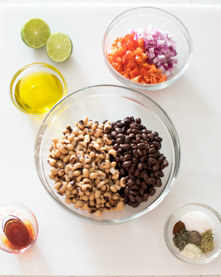 Healthy Cowboy Caviar Ingredients