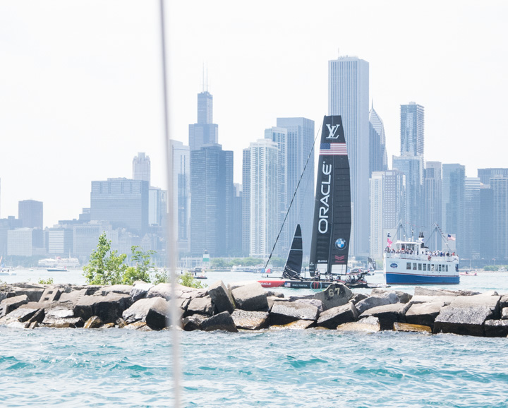 Team Oracle - America's Cup World Series Chicago 2016