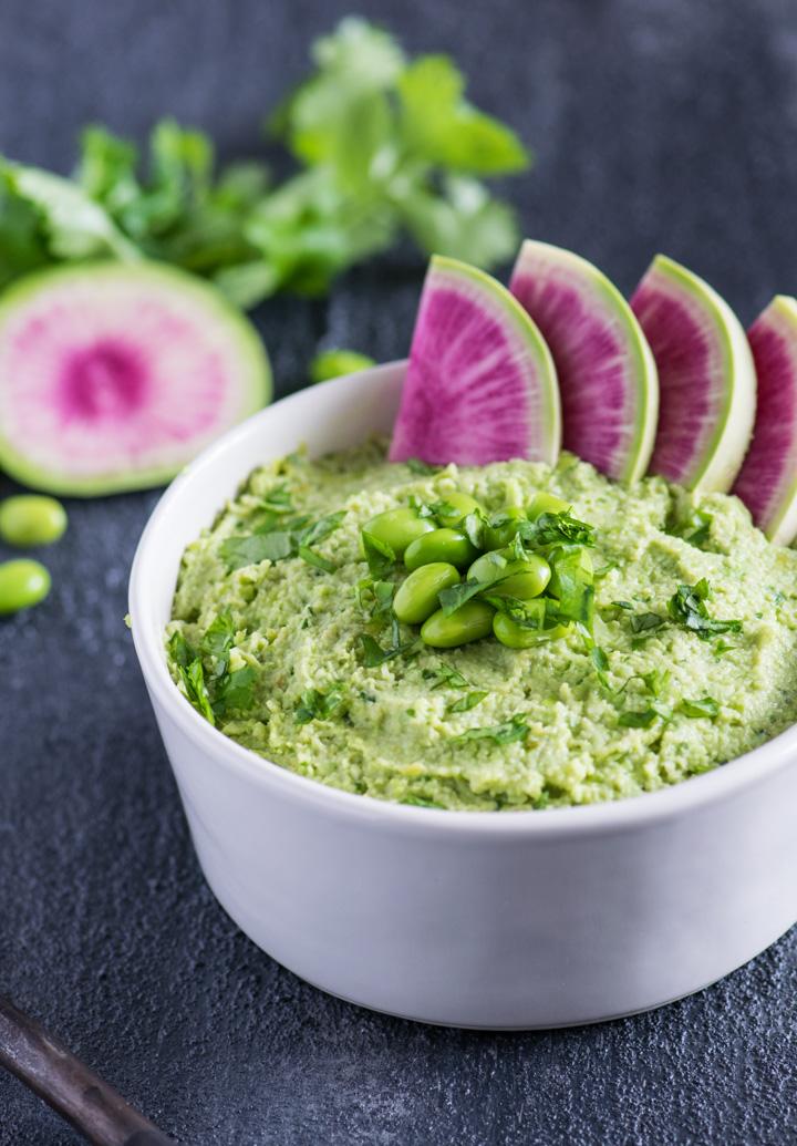 Edamame Avocado Hummus