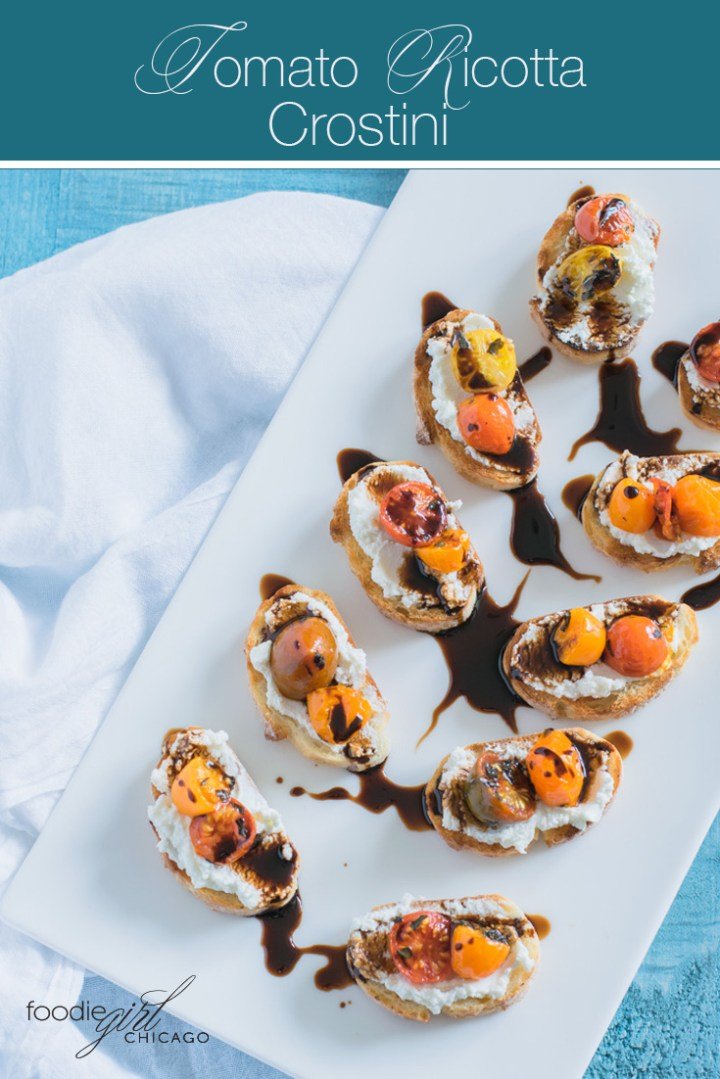 These tasty little toasts are an easyparty appetizer that is sure to impress your guests!