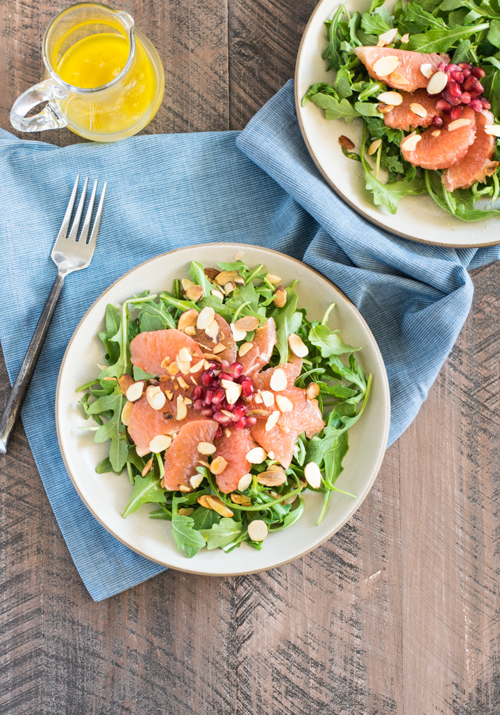 Pomegranate & Grapefruit Winter Salad