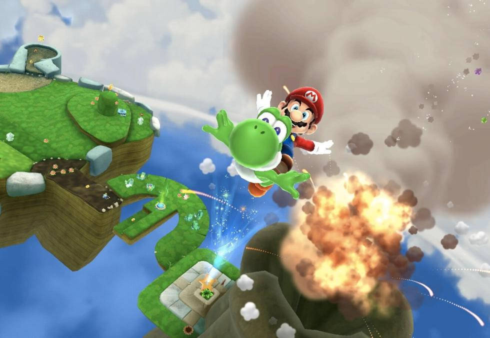 Mario-Galaxy-2-Gameplay