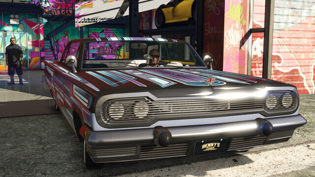 GTA 5 Online Lowrider Customizations Available Now