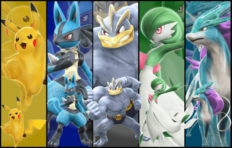 pokken_tournament_characters Leaked Characters of Wii U Pokemon Fighting Game Leaked Characters of Wii U Pokemon Fighting Game pokken tournament characters