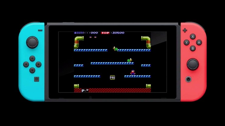 Nintendo Switch Adds First Classic Nintendo Game Mario Bros