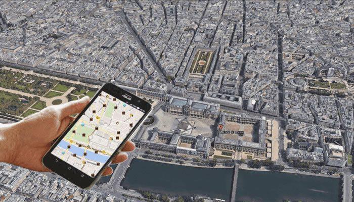 Rallye urbains GPS Paris