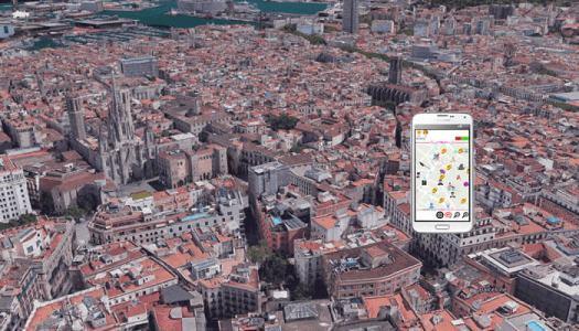 Rallye GPS urbain à Barcelone