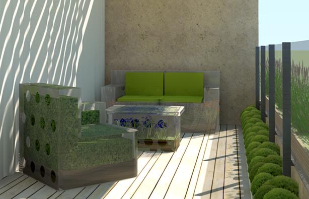 Design Challenge: Ten Urban Balcony Garden Ideas - Urban ...