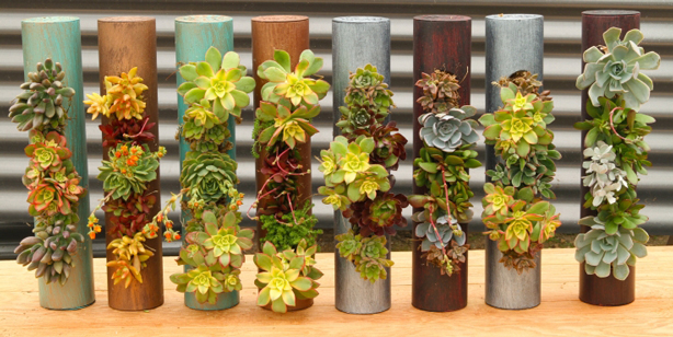 Use One Planted Fiori Cylinder Or Several On A Tabletop To Create An über  Cool Centerpiece.