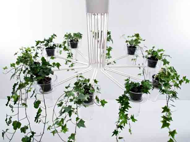 Debuted In 2009 At Salone Interonale Del Mobile Gumdesign S Flora Metal And Glass Plant Chandelier For Italian Lighting Brand Tredicidesign