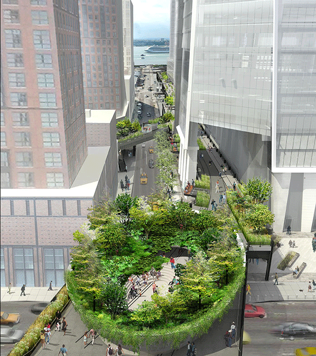 new-york-city-high-line-spur-aerial-looking-west