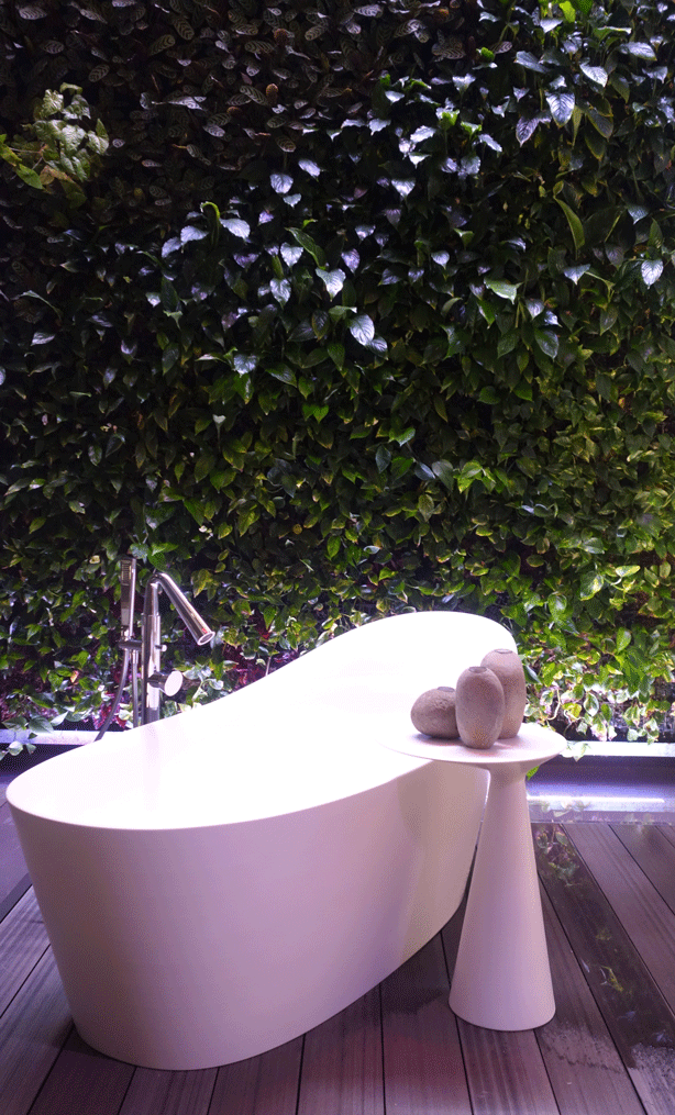gessi-vertical-garden-green-wall-showroom-bath