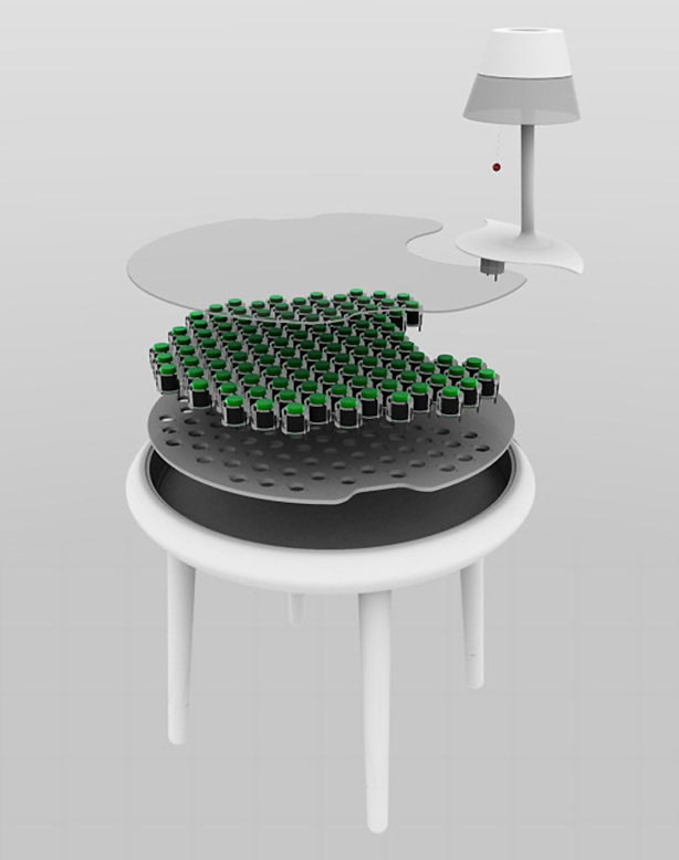 biophotovoltaic-Moss-Table-Exploded
