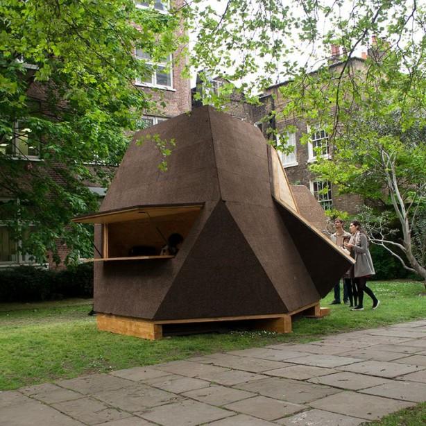 Tetra Shed Modern Garden Shed
