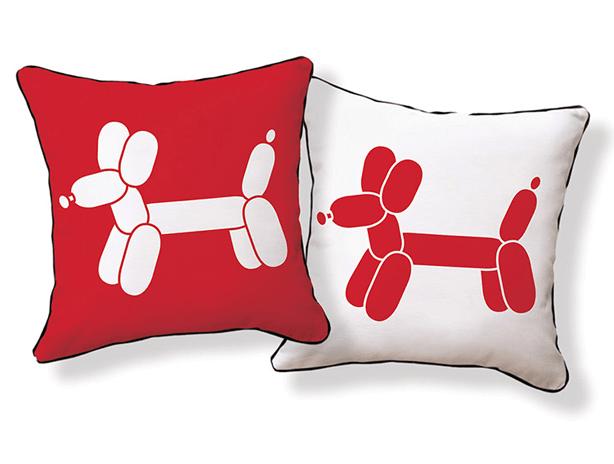 Naked-Decor-Doxie-Red-Balloon-dog-Pillow-allmodern-urabngardensweb