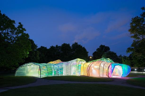 London's Serpentine Pavilion