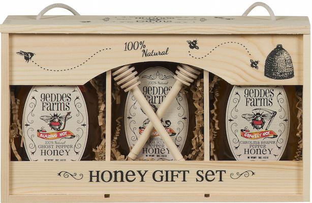 Spicy hot honey gift