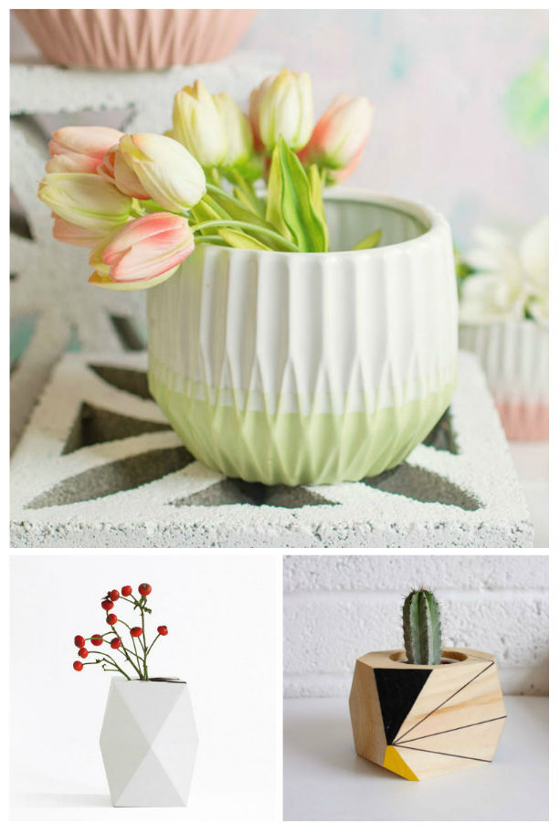 10 Geometric Planters for the Modern Home