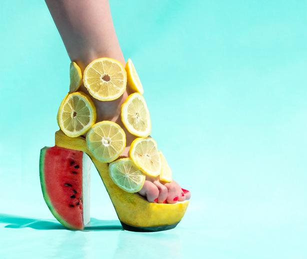 pantoufle-vert-lemons-urbangardensweb