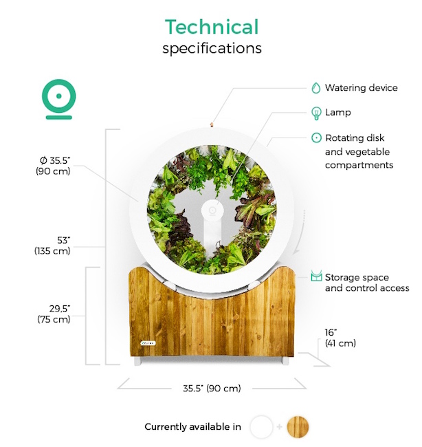 Rotating Indoor Hydroponic Garden Perfect For Small Space Living