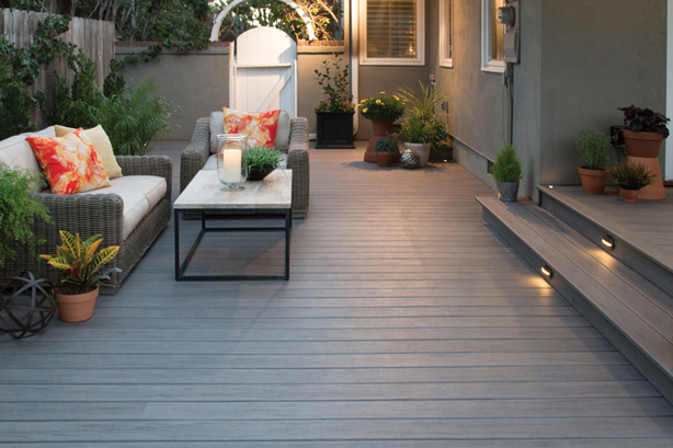 Decking Bedded Plants Garden Room For Modern Outdoor Living Space