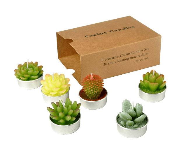 urban-gardens_mothers-day-gifts-for gardeners_succulent_tealight_candles