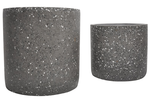 cement_terrazzo_texture_outdoor_planter_set