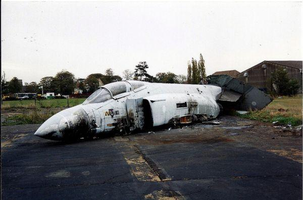 Abandoned 4 Phantom F Aircraft